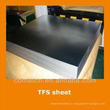 EN10202 standard Tin gratuit tôle d'acier pour EOE twist off