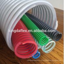 Manguera flexible flexible del PVC de la manguera de la succión flexible del PVC de la manguera de la succión de 25m m 1 fabricante