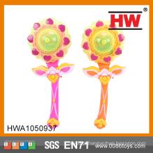 2015 New Interessante 31CM Sun Flower piscando varinha