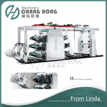 6 Color Non-Woven Bag Printing Machine and Bag Making Machine