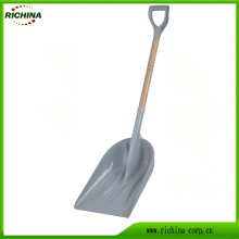 Poly Snow Scoop with Comfortable D-Handle