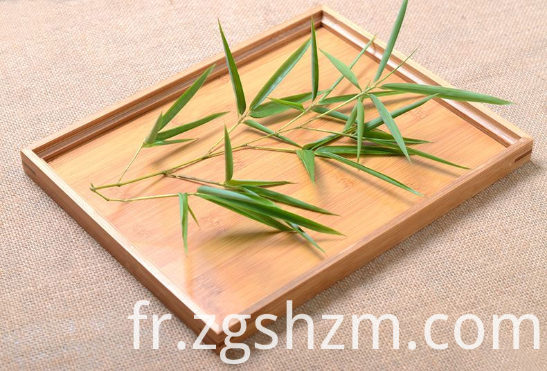 Bamboo Tray with Different Design