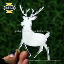 la forma animal de alta calidad de acrílico sentía las decoraciones nativas del árbol de navidad