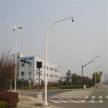 Câmera galvanizada e postes da câmera CCTV