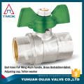 handle lock electric actuated ball valve with lock