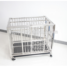 304 Stainless Steel Dog Kennels Cages with Top Opening