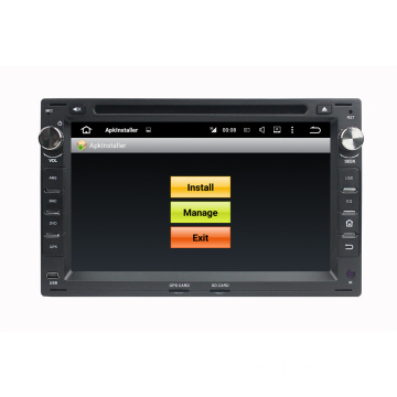 Volkswagen Android Car DVD를위한 이중 소음