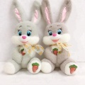 Cute stuffed plush animal toys rabbit eyes embroidery