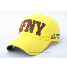 OEM Produce Customized Logo Applique Embroidered Promotional Cotton Baseball Cap