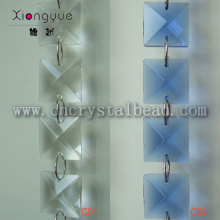 Crystal Square Bead stringing chain wholesale