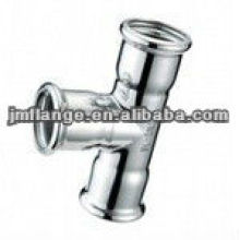 ASTM A234 WPB acero inoxidable Threaded Tee