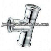 ASTM A234 WPB aço inoxidável Threaded Tee