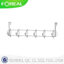 Whitmor Manufacturing White Over The Door Storage 6 Hooks