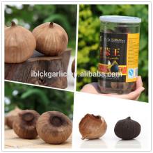 Королевский натуральный вкусный черный чеснок, сделанный из фарфора 250 г / бутылка