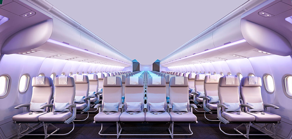Aluminum products for aircraft seats