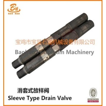 Sleeve Type Drain Valve of Downhole Testing Tool