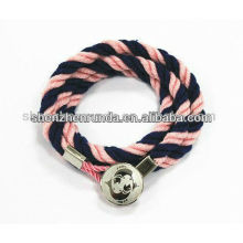 Fashion Jewelry Weave Bracelet Colorful Bracelet Manufactures & Suppliers & Factory