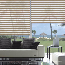Best Quality Cheap Price Fashion 100% Polyester Fabric Sheer Zebra Roller blinds