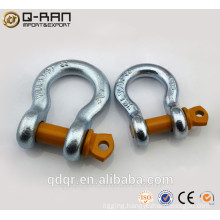US Type Drop Forged Anchor Shackles/ Screw Pin Shackles/ Crane Shackles/209 Shackles