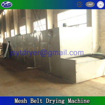 Belt dryer machine for vegetable