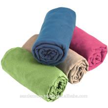 Solid Microfiber Suede Towel