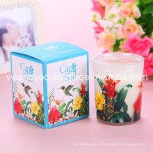 Pantalla de impresión Glass Jar Luxury Candle