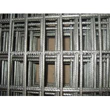 Steel reinforcing concrete welded wire mesh