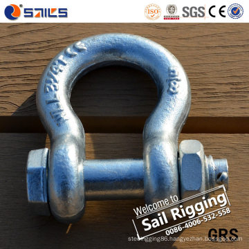 Us Type Bow Shackle Bolt and Nut Type G2130