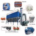Sistema de coleta de pó de múltiplos sacos para fábrica de cimento