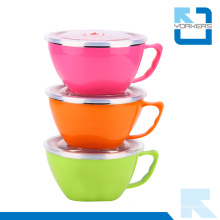 High Quality Colorful Stainless Steel Instant Noodle Bowl
