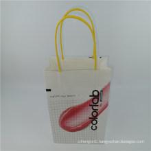 Fashion Shopping Paper Bag White Kraft Bag with Custom Logo