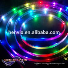 IP68 digital 30 l / m luz de piso llevó la iluminación de tira, 12v tira de luz