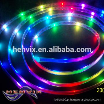 IP68 digital 30 l / m chão luz levou tira iluminação, 12v strip light