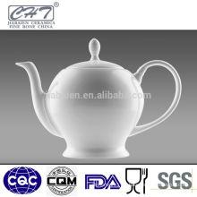 Good quality fine bone china chinese tea pot kettle