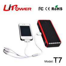 Lipower Emergency power supply 12 volt auto battery jump starter with peak current 400A