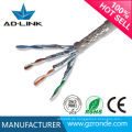 8Cores High Twisted SFTP Cat7 Braiding Wire Abgeschirmte Lan Kabel