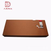 Atacado custom made caixa de papelão ondulado personalizado