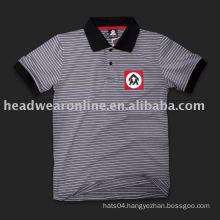 100%cotton/polyester men' polo neck t shirt