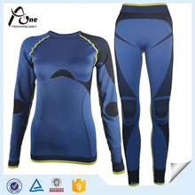Wholesale Customized Skins Seamless Base Layer Suit for Women