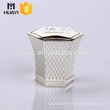 capsules de bouteilles en métal de zamac pour la bouteille de parfum de sertissage