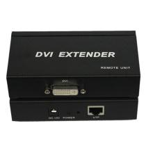 Prolongateur 1080i DVI de 100m au-dessus de simple Cat5 / 5e / 6