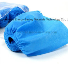 Disposable Hospital Non-Woven PP/PE Waterproof Anti-Skid Shoe Cover Kxt-Sc30