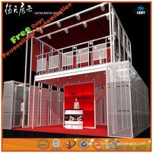 2014 hochwertige modische maßgeschneiderte Aluminium Ausstellung Karton Display