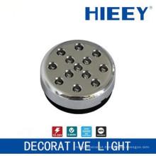 Lâmpada de colocação lateral do diodo emissor de luz do diodo emissor de luz da lâmpada que conduz a luz decorativa da placa da licença com lente desobstruída e base do ABS