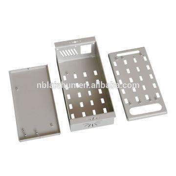 2015 Fábrica de alta demanda personalizado feito em aço inoxidável zinco metal folha alumínio carimbar peças