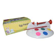 Páscoa, pular, diy, tinta, plástico, Páscoa, colorir ovos