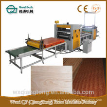 Decoratibe paper/ HPL/ PVC Hot melt Glue Laminating Machine /Glue roller spreader machine