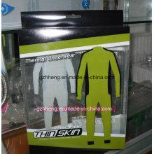 Boîte en plastique imprimée personnalisée pour l'habillement (emballage cadeau)