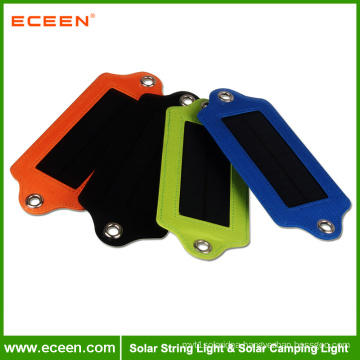 ECEEN portable white color LED ABS solar camping light emergency charger light