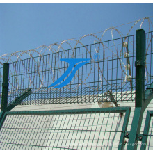 Galvanisierter vorübergehender geschweißter Stahldraht-Sicherheitszaun